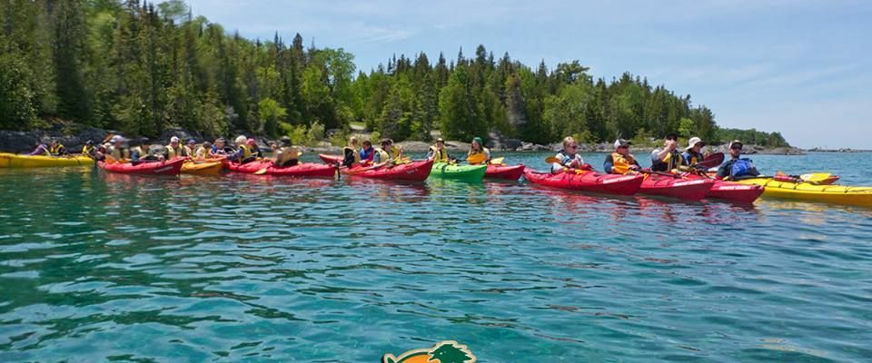 2-6 hour paddle trips for groups 10 to 200